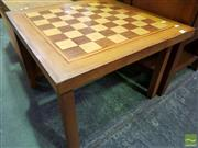 Sale 8465 - Lot 1074 - Chess Board Coffee Table