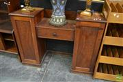 Sale 8515 - Lot 1004 - Cedar Clerks Desk