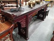 Sale 8724 - Lot 1050 - Chinese Timber Alter Table