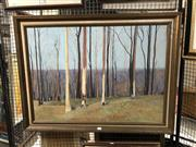 Sale 8767 - Lot 2059 - Keith Moore - Autumn , oil on canvas, 64 x 90cm, signed lower right