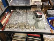 Sale 8797 - Lot 2446 - Collection of Glassware incl Etched Examples