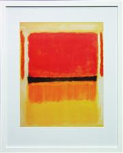 Sale 8068A - Lot 28 - Mark Rothko (1903 - 1970) After. - Untitled, 1949 75 x 61cm (frame 108 x 88cm)