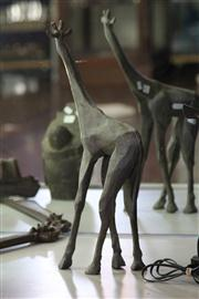 Sale 8160 - Lot 19 - Mal Benton Bronze Giraffe