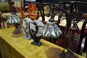 Sale 8532 - Lot 1385 - Two Pairs of Table Lamps