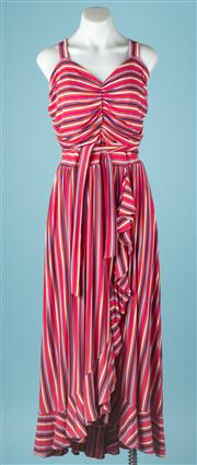 Sale 9027F - Lot 67 - A Maeve by Anthropologie stripy sun dress. New with tags. size 2X