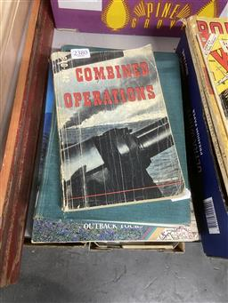 Sale 9101 - Lot 2239 - 3 Vols: Combined Operations 1940-1942, Principles of Refrigeration & BP: Explore Australia
