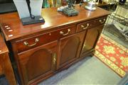 Sale 8093 - Lot 1308 - Drexel Sideboard w 3 Drawers above 3 Doors (062017)