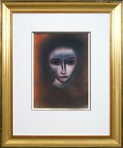 Sale 8427 - Lot 543 - Robert Dickerson (1924 - 2015) - Young Woman 36.5 x 26.5cm