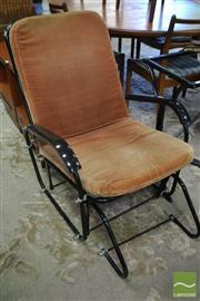 Sale 8528 - Lot 1061 - Danish Metal Slide Rocker