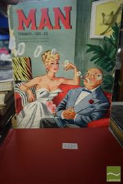 Sale 8530 - Lot 2251 - Collection of Vintage Man Magazines