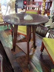 Sale 8566 - Lot 1361 - Shaped Occasional table