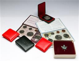 Sale 9156 - Lot 64 - A collection of world proof and uncirculated coins boxed