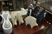 Sale 8161 - Lot 1051 - Collection of Decorative Animal Ornaments
