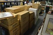 Sale 8214 - Lot 2361 - Large Collection of Boxed Items incl. Frames, Lamps, Jewellery Stands