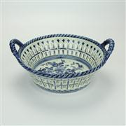 Sale 8413 - Lot 44 - Delfts Blauw Fruit Basket