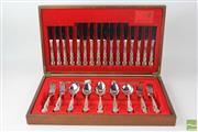Sale 8540 - Lot 49 - Canteen of Rodd Cutlery