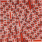 Sale 8862A - Lot 575 - Walala Tjapltjarri (1960 - ) - Tingari 120 x 120cm (stretched and ready to hang)