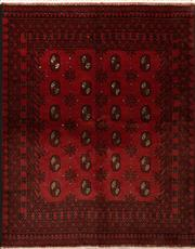 Sale 8418C - Lot 32 - Afghan Turman 200cm x 150cm