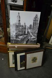 Sale 8453 - Lot 2090 - Collection of Paintings & Prints, etc