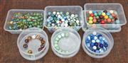 Sale 9081H - Lot 103 - A collection of 505 marbles from the 1950s in Wellington, New Zealand