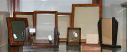 Sale 7917 - Lot 36 - Art Deco Timber Picture Frames & Others