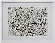 Sale 8068A - Lot 67 - Jackson Pollock (1912 - 1956) After. - No. 14 52 x 71cm (frame 78 x 98cm)