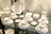 Sale 8288 - Lot 50 - Royal Albert Winsome Part Tea Setting