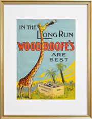 Sale 8347A - Lot 72 - Artist Unknown (XX) - In the Long Run Woodroofes Are Best 48 x 35cm