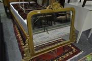 Sale 8499 - Lot 1685 - Timber Frame Mirror With Ornate Carvings