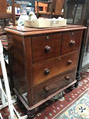 Sale 8839 - Lot 1346 - Small Victorian Chest of Drawers