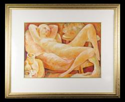 Sale 7923 - Lot 564 - Bill Coleman - Reclining Nude