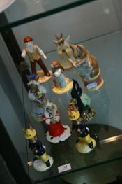 Sale 7875 - Lot 70 - Royal Doulton & Royal Albert Nursery Figures incl Little Black Rabbit