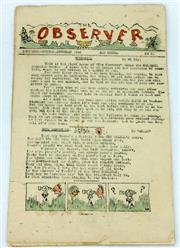 Sale 8214 - Lot 25 - The Observer New Guinea Newspaper 1943