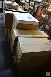 Sale 8214 - Lot 2367 - Boxed Items Cushion Cases, Chess set, etc