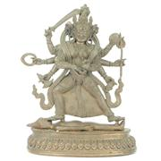 Sale 8273 - Lot 8 - Brass Kaali Kali Bhairavi Puja