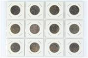 Sale 8393 - Lot 50 - Chinese Copper Money Coins