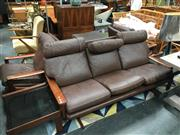 Sale 8859 - Lot 1029 - Tessa 4-Piece Lounge Suite incl. 3 Seater, 2 Armchairs and a Footstool