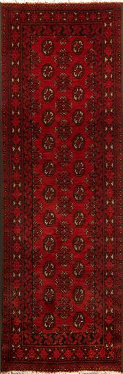 Sale 8360C - Lot 42 - Afghan Turman 240cm x 78cm