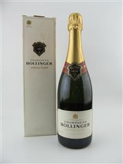 Sale 8423 - Lot 663 - 1x NV Bollinger Special Cuvee Brut, Champagne - in box