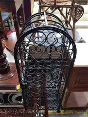 Sale 8566 - Lot 1372 - Metal Wine Rack