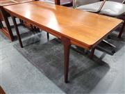 Sale 8723 - Lot 1061 - McIntosh Teak Extension Coffee Table