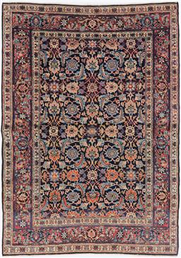 Sale 9181C - Lot 10 - An antique c1900 Malayer natural dye Persian Rug in excellent condition 185 x 140cm