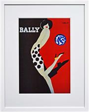 Sale 8068A - Lot 89 - Bernard Villemot (1911 - 1989) After. - Bally 66 x 45cm