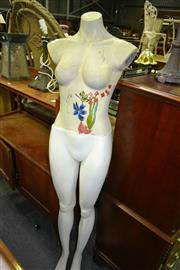 Sale 8093 - Lot 1331 - A Female Mannequin