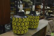 Sale 8350 - Lot 1023 - Pair of Italian Ceramic Table lamps