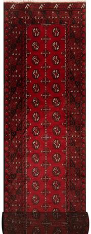 Sale 8447C - Lot 87 - Afghan Turkman Runner 380cm x 80cm