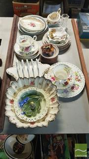 Sale 8537 - Lot 2301 - Pair of Royal Albert Trios Together with Other Ceramics inc Ducal Ware Dish and Shelley