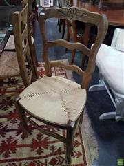 Sale 8601 - Lot 1063 - Set of Four Dining Chairs