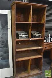 Sale 8326 - Lot 1003 - Rustic Open Shelves