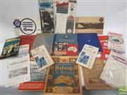 Sale 8900 - Lot 39 - 2 Boxes of Various Travel & Other Ephemera